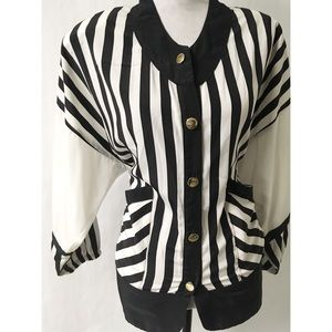Vintage Stripe Top Size XL